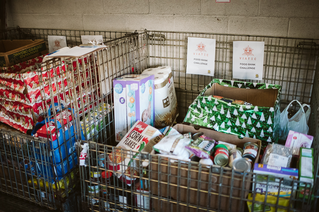 Viatec Food Donations